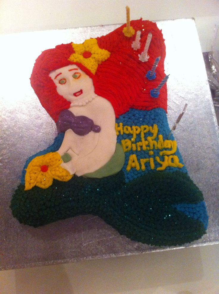 Ariya's 5th Birthday Cake