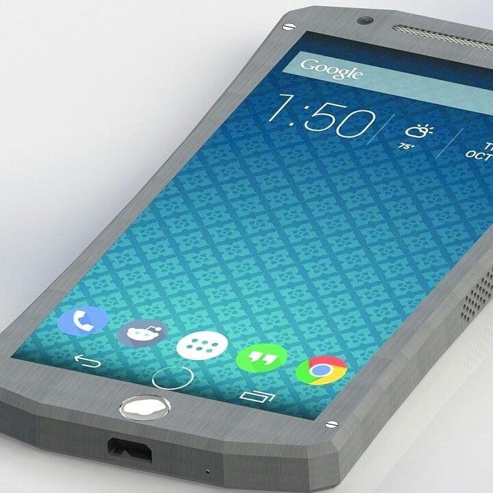 3d model concept phone