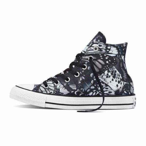 Converse Chuck Taylor All Star High-Top Sneakers Womens Sneakers ($55) ❤ liked on Polyvore featuring shoes, sneakers, converse trainers, high-top sneakers, star sneakers, converse sneakers and high top trainers