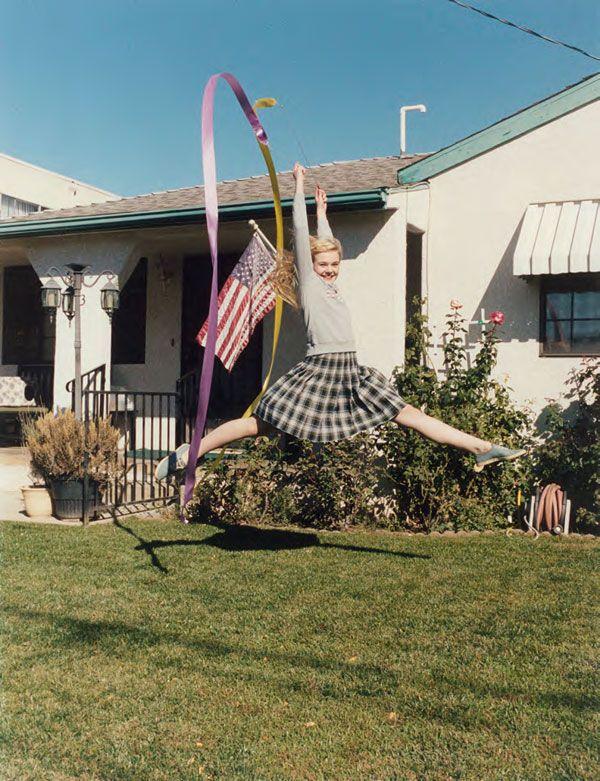 jump!  Elle Fanning by Venetia Scott for Self Service Magazine