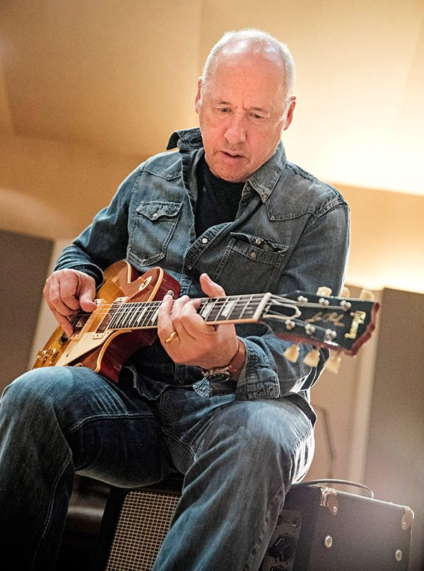 The Gibson Custom Mark Knopfler '58 Les Paul - Aged and Signed