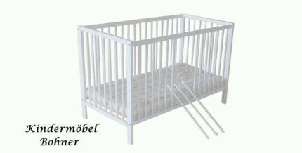 Kinderbett Gitterbett Juniorbett 120x60 cm weiß mit Matratze Neu! in Baden-Württemberg - Eislingen (Fils) | Babywiege gebraucht kaufen | eBay Kleinanzeigen