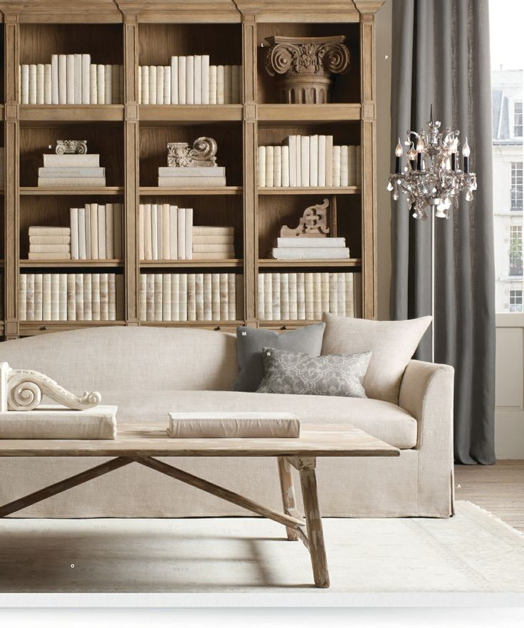 126 best images about restoration hardware on pinterest upholstered sofa cabinets and glass - Small spaces restoration hardware set ...