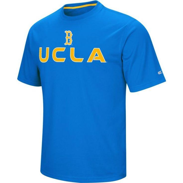 Colosseum Athletics Men's Ucla Bruins True Blue Pique Performance T-Shirt, Size: Medium, Team