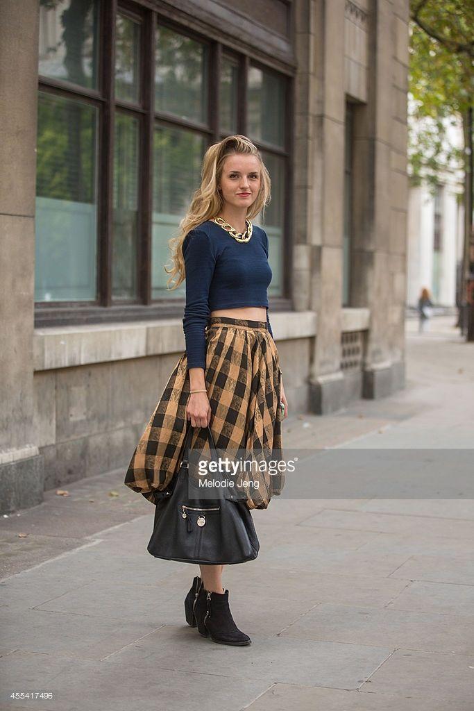 Phoenix Magazine Editorial Assistant Joy Starkey wears a vintage necklace and skirt, H