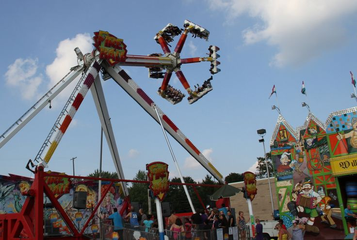 Livestock competitions, carnival rides all part of mix at ...