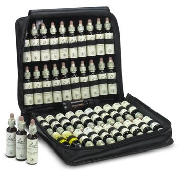 Complete Bach Flower Therapy kit - I don't have the full kit, but I do have some of the remedies that I've made my own concoction for. I keep that with my rescue remedy as well.