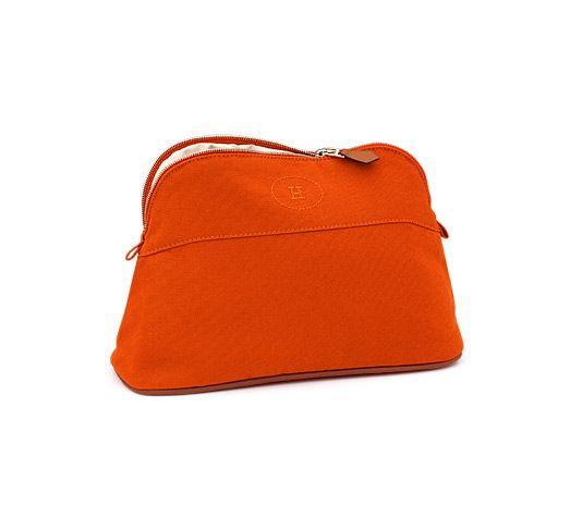 The classic Hermes wash bag. Travel essential www.hermes.com ...