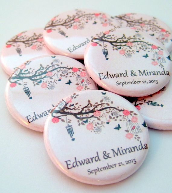 Romantic Wedding Favor Magnets  by Stuck Together Magnets, $31.25