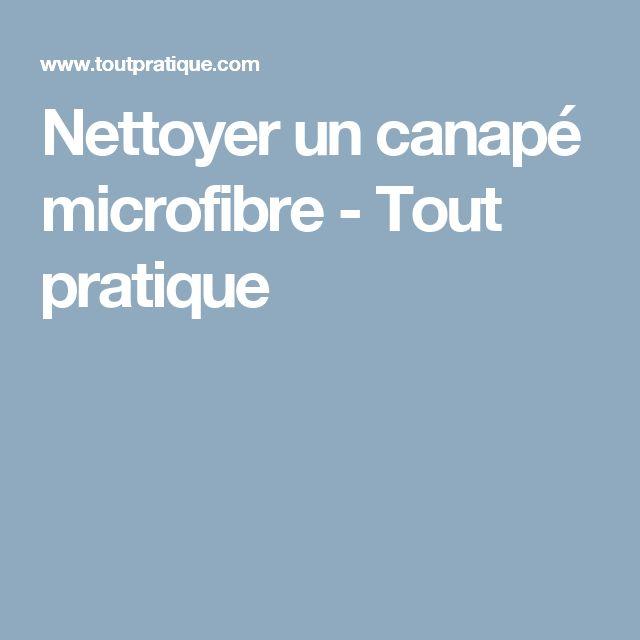Nettoyer un canapé microfibre - Tout pratique