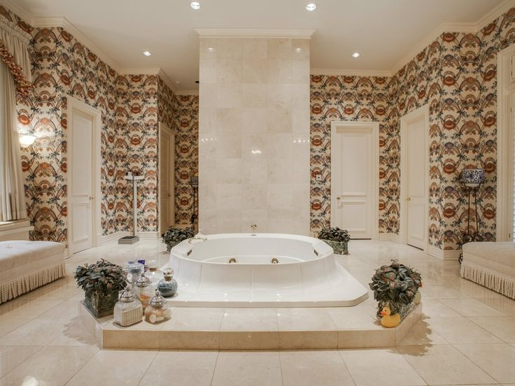 This Is One Of Six Full Bathrooms At 9246 Sunnybrook Lane In Dallas The