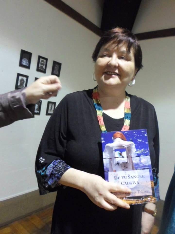 INSTITUTO CHILENO NORTEAMERICANO-PRESENTACION DE NOVELA-DE TU SANGRE CAUTIVA-EDITORIAL SEGISMUNDO-CHILE