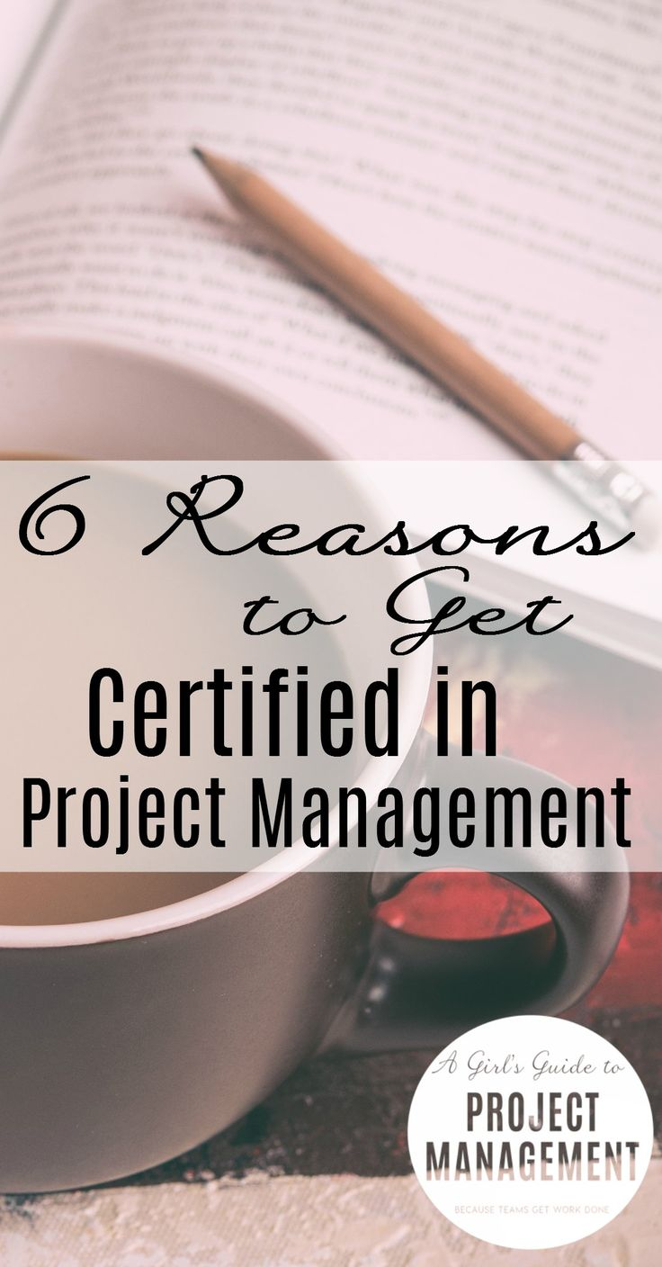 6 reasons to get certified in project