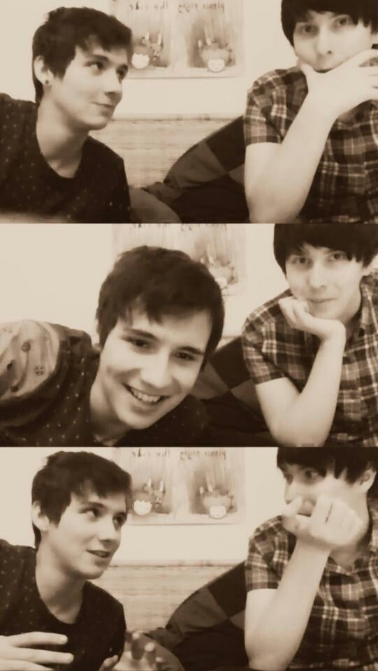 Dan Howell and Phil Lestet