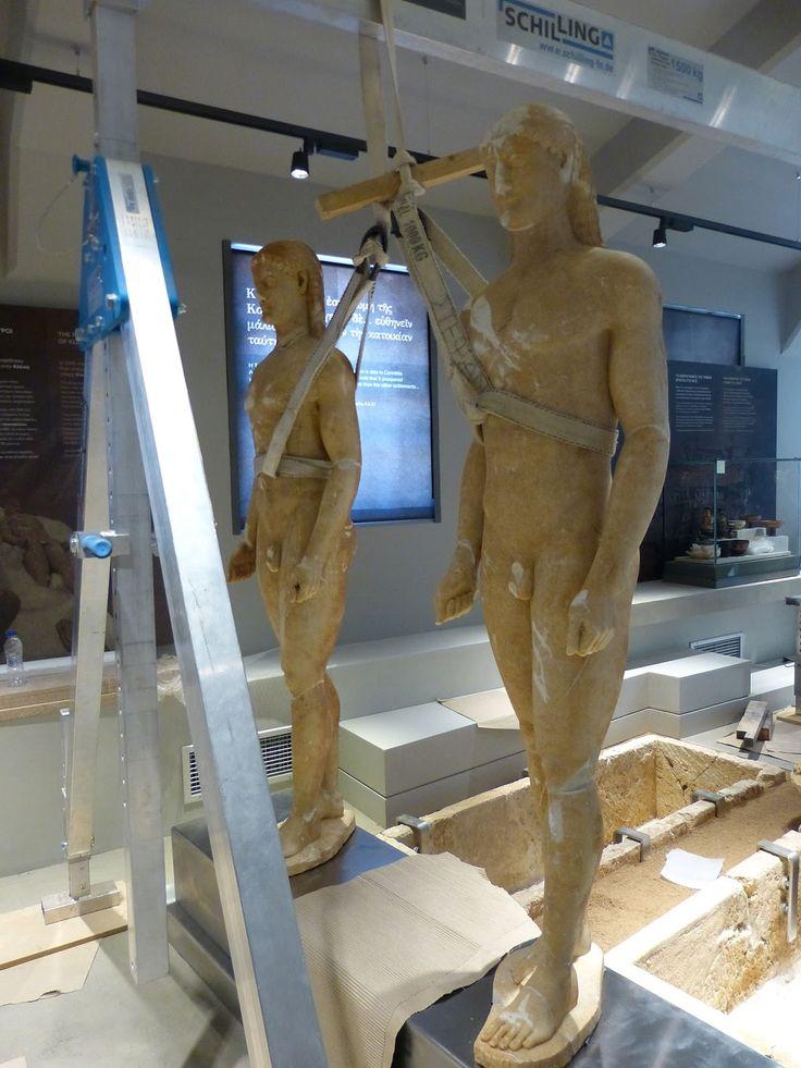 Η Αρχαία Κόρινθος και οι δίδυμοι κούροι που παραλίγο να πουληθούν στο εξωτερικό (video - φώτο)
