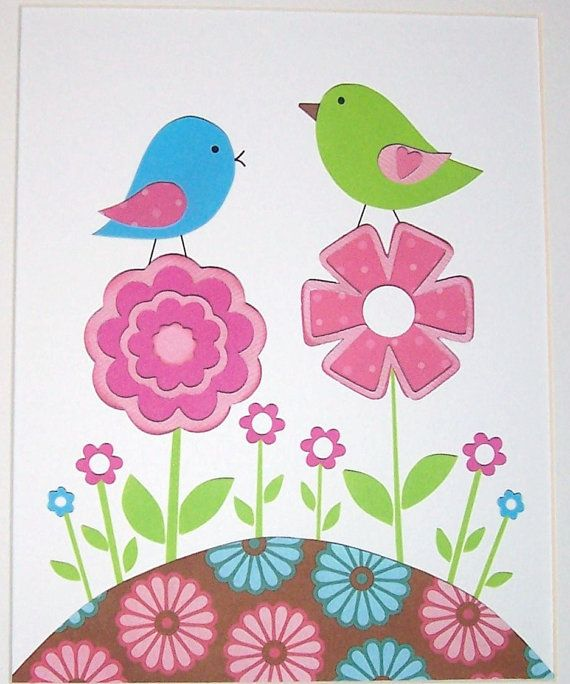 84 Best Pink And Green Nursery Art Decor Images On Pinterest