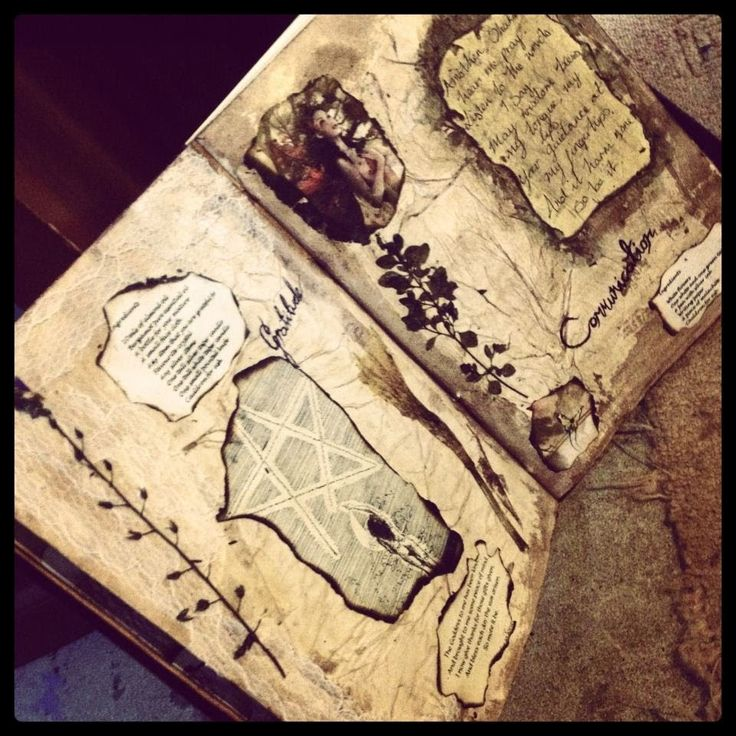 Book Of Shadows Cover Diy : Images about book of shadows make your own on pinterest