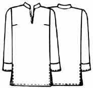 Выкройки блузок: туника со шлицами в боковых швах - Бесплатные выкройки для шитья одежды
