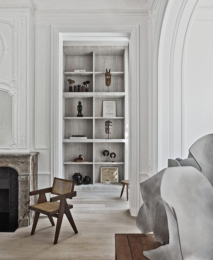 These images of the G House in Brussels, Belgium, have charmed us for some time. The impressive three-storey townhouse was designed in 1907 by the architects François Kielbaey and J. L'Anvre. The building's French limestone façade was restored by the Brussels-based architect Olivier Dwek as part of an extensive re-configuration. The exceptionally lovely single-family residence has retained …