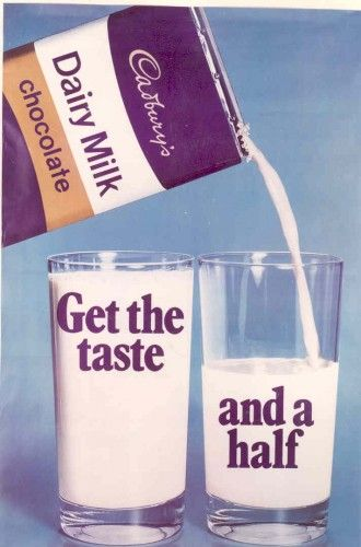 Cadbury's 1960s. When Cadbury made real chocolate...