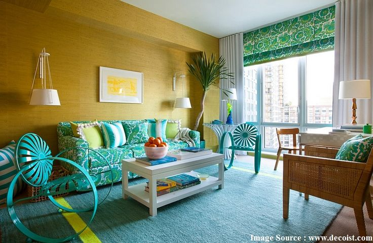 5 Ideal Color Schemes to Make Your Living Room Brighter…..! – IDprop Blog