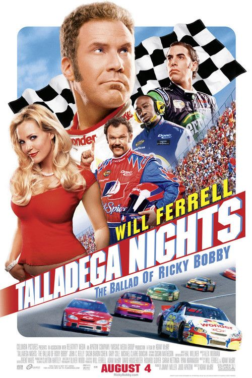Watch Talladega Nights: The Ballad of Ricky Bobby 2006 Full Movie Online Free