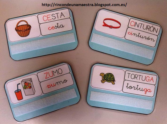 Rincón de una maestra: Tarjetas con reglas ortográficas