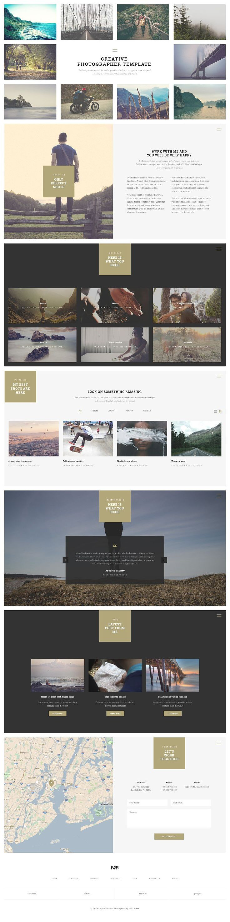 Web Design Inspiration from NRG Part 2