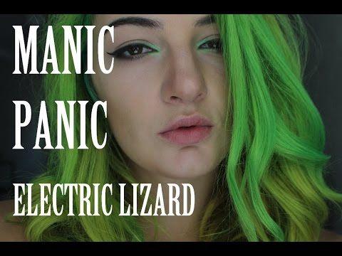 DIY Hair: Dying Green with Manic Panic Electric Lizard