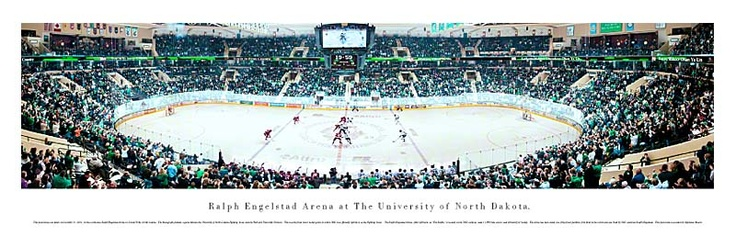 University of North Dakota Fighting Sioux - Ralph Engelstad Arena Panoramic Picture $29.95
