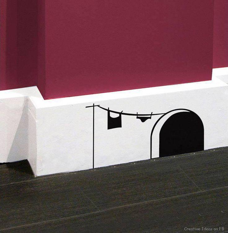 Les 312 meilleures images propos de d co sur pinterest assaisonnement co - Comment peindre les plinthes ...