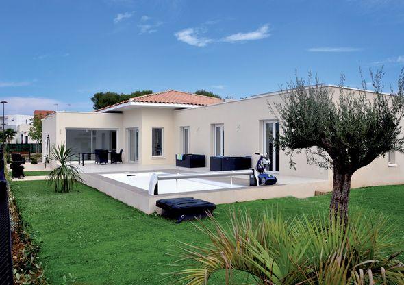 Maison de plain pied 6 en 2019 plans architecturaux maison plain pied construire sa maison - Construire sa maison plain pied ...