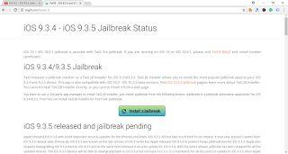 TaiG9 Jailbreak iOS 9.3.4 Download and install Best Cydia Tweak App For iPhone/iPad