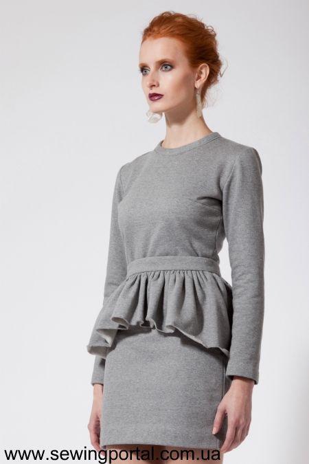 Платье с баской. Делаем сами! | Sewing Portal
