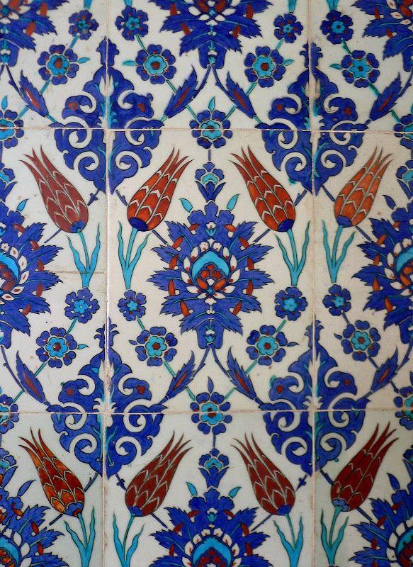 Istanbul, Turkey, Iznik Tiles Ceramic Jewels