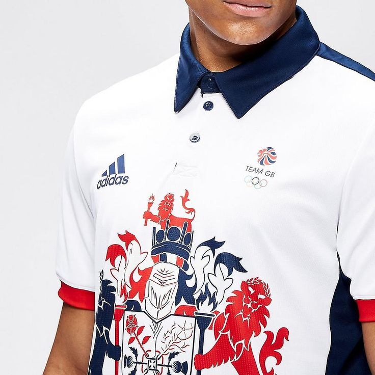 adidas Team GB 2016 Climachill Men's Polo Shirt | Mens | Fruugo USA
