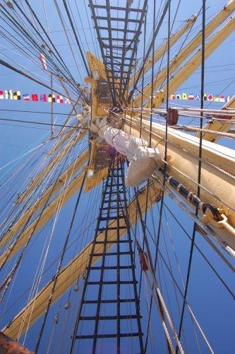 STS Kruzenshtern in #Gdynia harbour #sailboats