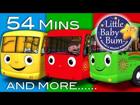 Five Little Ducks | Plus Lots More Children's Songs | 74 Minutes Compilation from LittleBabyBum! - YouTube