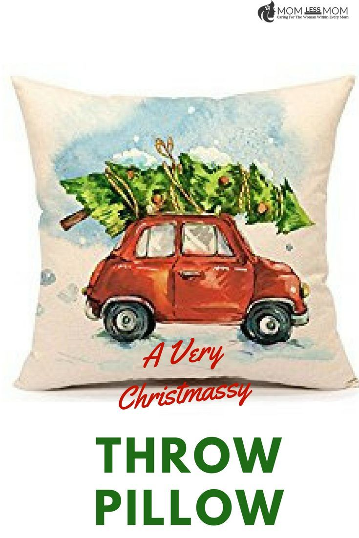 Nothing says like Christmas is here than this throw pillow! #affiliate