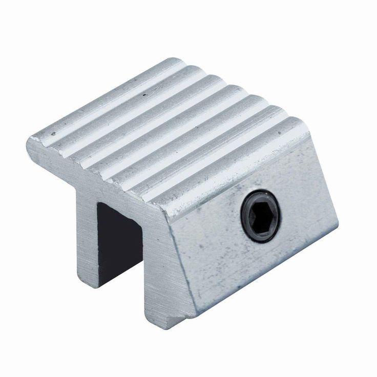 Prime-Line Tamper Resistant Zinc Die-Cast Sliding Window Lock (2 per Pack)-S