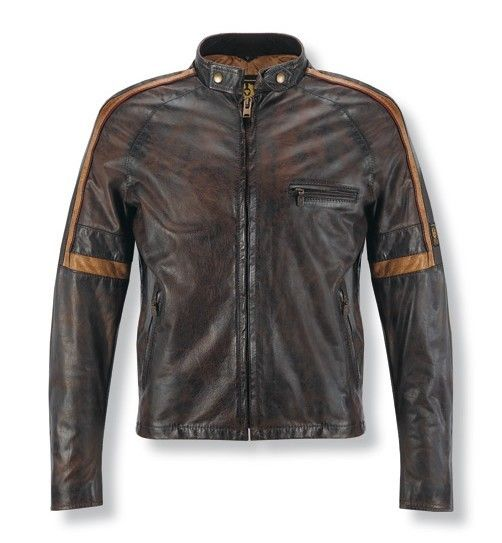 Belstaff Coat Men Leather Jacket Don't think this is what he meant... but it is SO cute.....