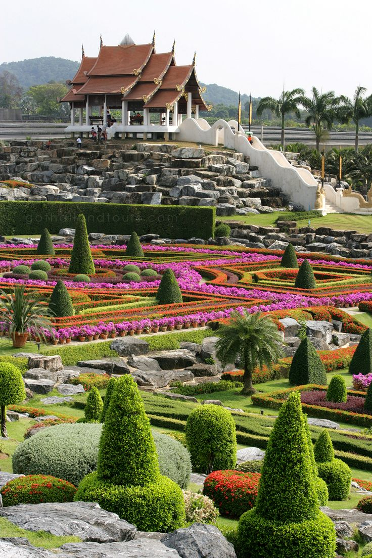 Beautiful Nongnooch Botanical Garden, Pattaya - Thailand