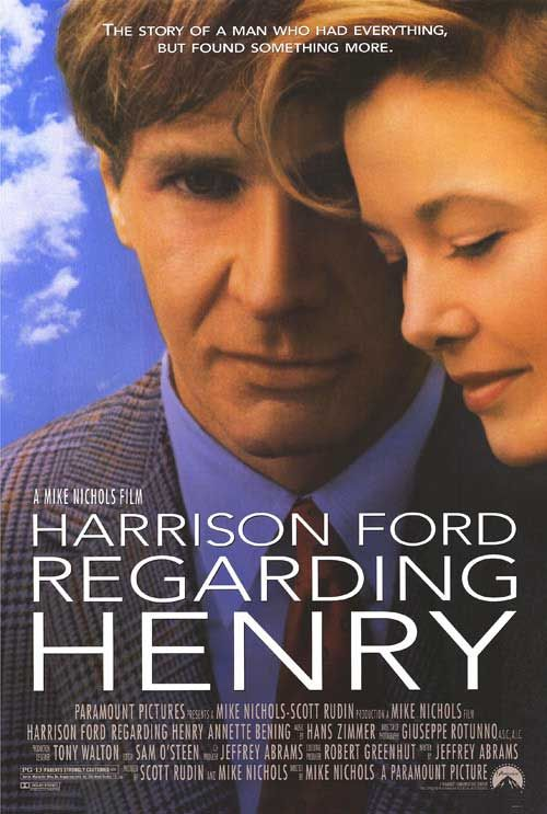 Directed by Mike Nichols. With Harrison Ford, Annette Bening, Michael Haley, Stanley Swerdlow. After being shot, a man loses his memory and must relearn speech and mobility, but he has a loving family to support him.