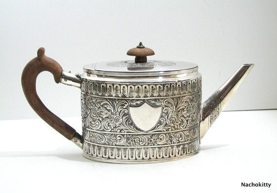 18th Century Sterling Teapot: Silver Teapots, Teapot Fogelberg, 18Th Century, Sterling Teapot, 1793 Teapot, Antiques