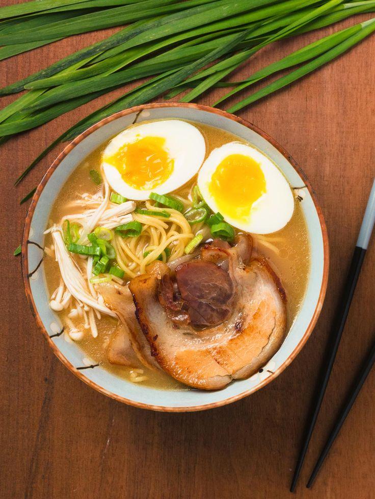 You can make tonkatsu ramen that's as the best ramen joint in town.
