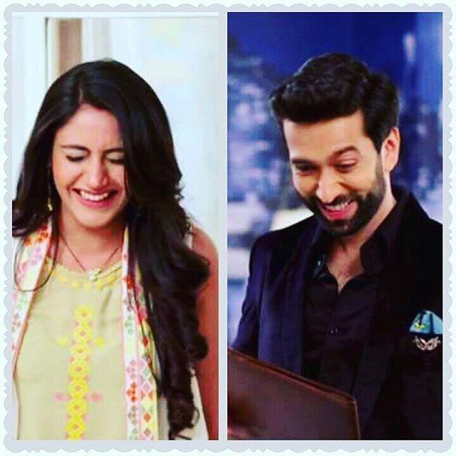 Look at their Smiling Faces!!   #cuties #ShivIka.. #shivaay #anika #nakuulmehta #surbhi #shivika #ishqbaaaz #ishqbaaz @nakuulmehta @officialsurbhic