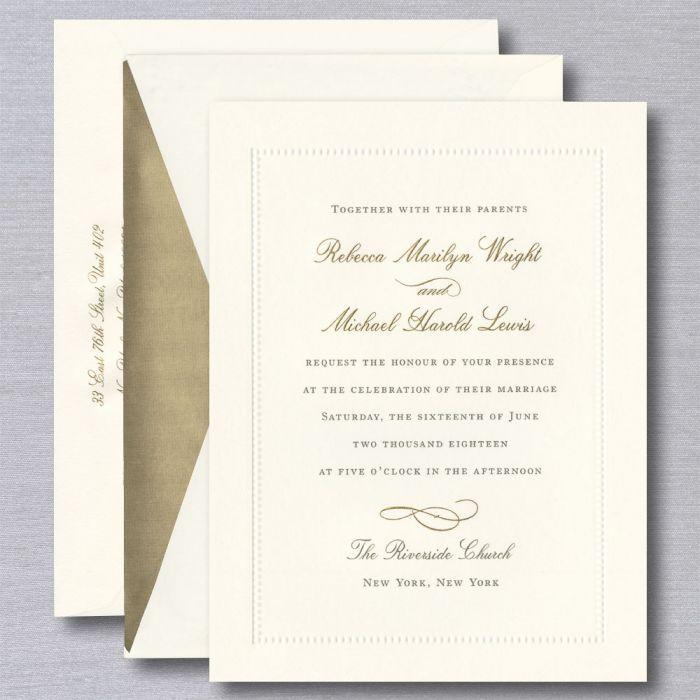 William Arthur Wedding Invitations Crane Com Wedding Invitations Beach Wedding Invitations Pearl Wedding Invitations