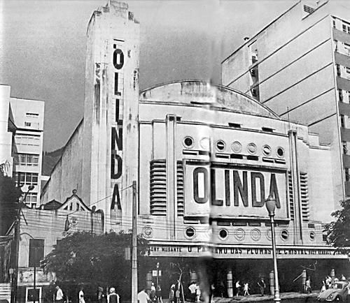 Cinema Olinda, na Praça Saens Peña - Tijuca
