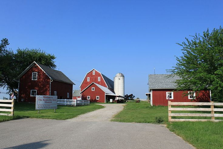 A historic site near downtown Saline, Rentschler Farm Museum serves as a local tourist attraction, showing how farming has changed over the years.