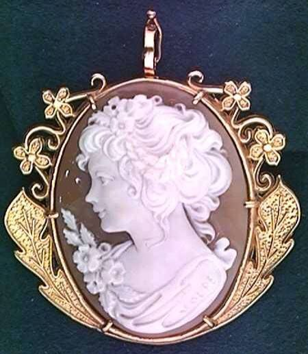 vintage cameo jewelry | Pinned by Donna Machela